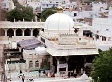 Ariel view of the Dargah Khawaj Moinuddin Chishty Ajmer