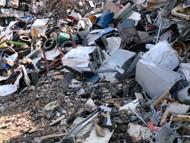 廃棄物の入荷