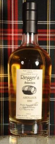 Riegger's Selection 1990 CS 52,9% bot 2011 Bourbon cask # 16915