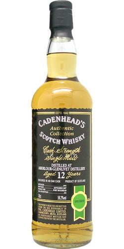 Cadenhead's AC 1995 , Port Hoggi, 58.2%