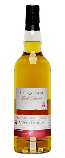 Dewar Rattray 18yo Bottled for K.L. Wines USA