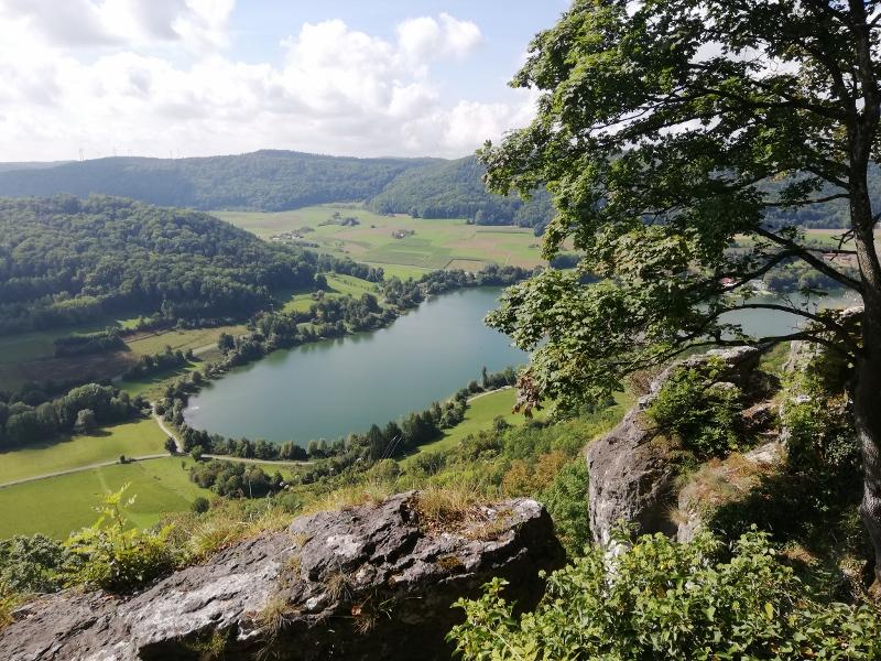 Blick auf den Happurger See