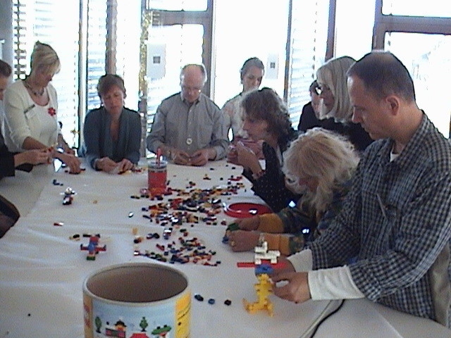 Manager Training with Lego in Copenhagen.