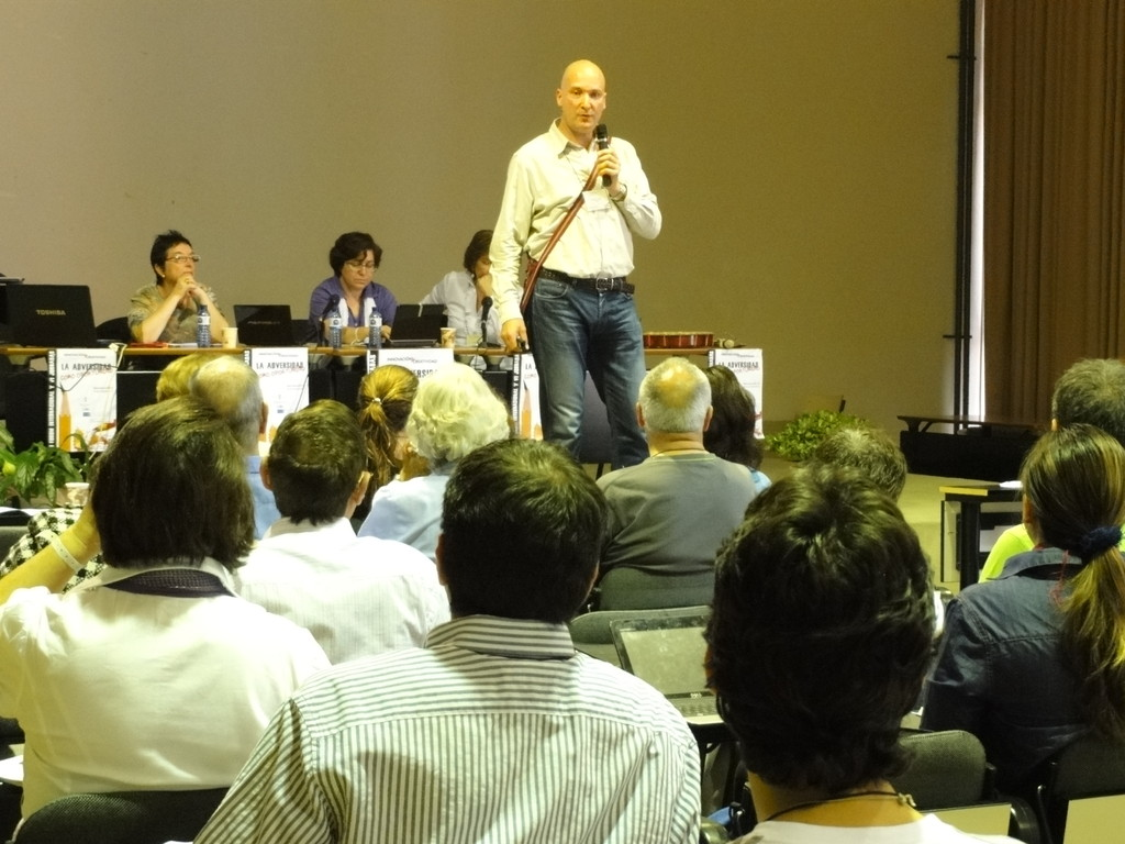 El sueño se realizó con la invitación al Congreso de Creatividad e Innovación de la Universidad de Barcelona.