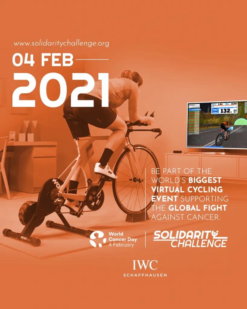SOLIDARITY CHALLENGE World Cancer Day 2021 (Celebrity Management)