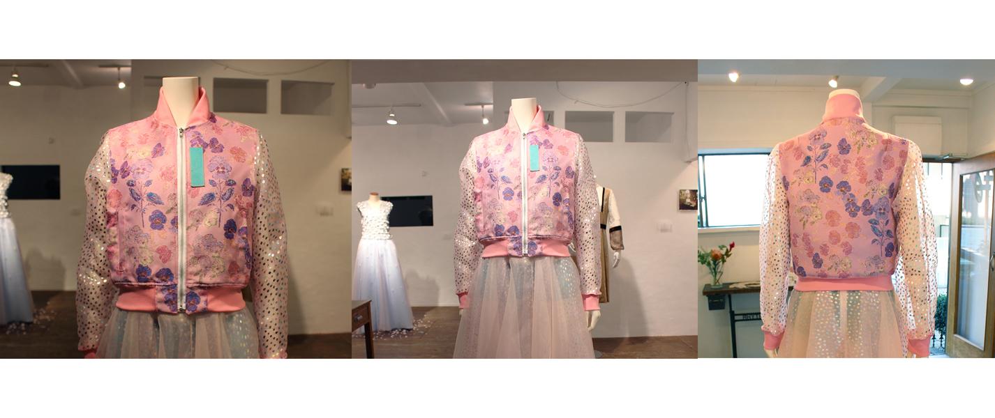 金関 陽香 さん 展示会にて ジャケットかな