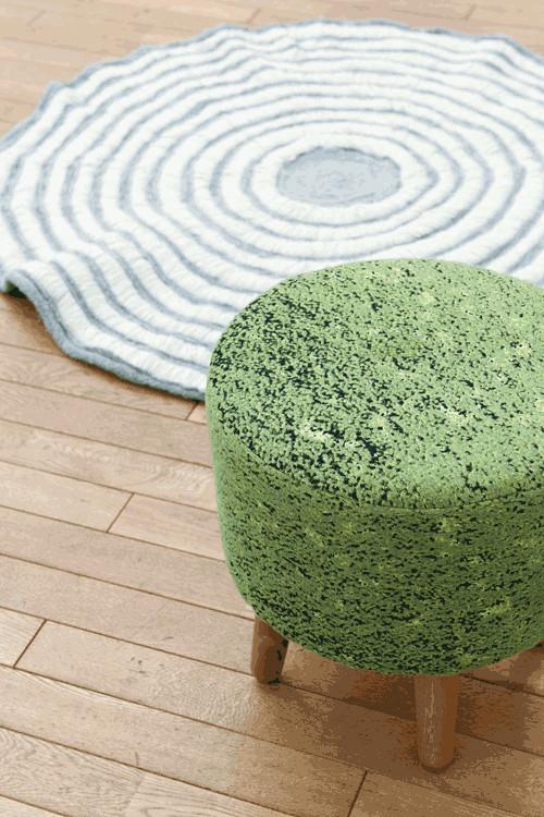 椅子 生地 織物