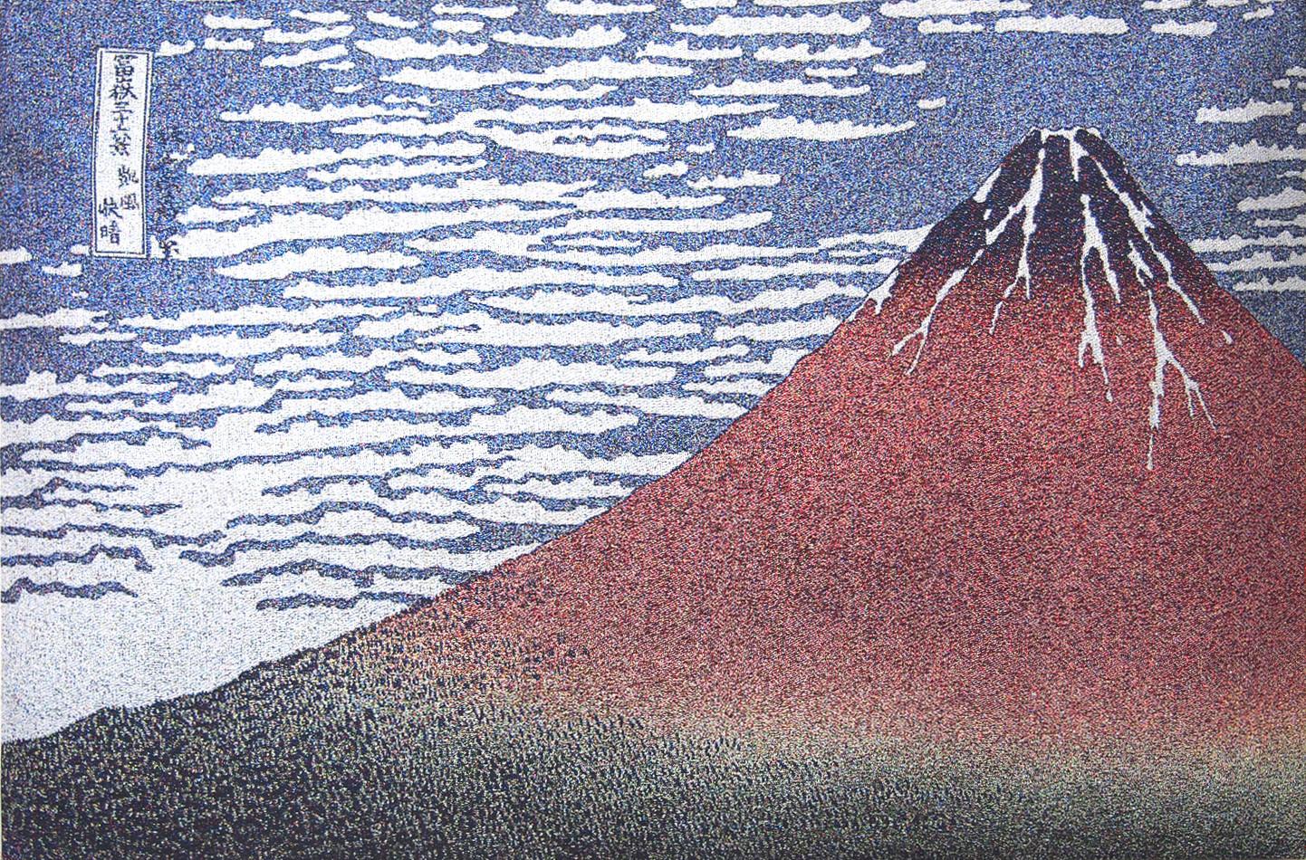富嶽三十六景 「赤富士」noA1  w60*40