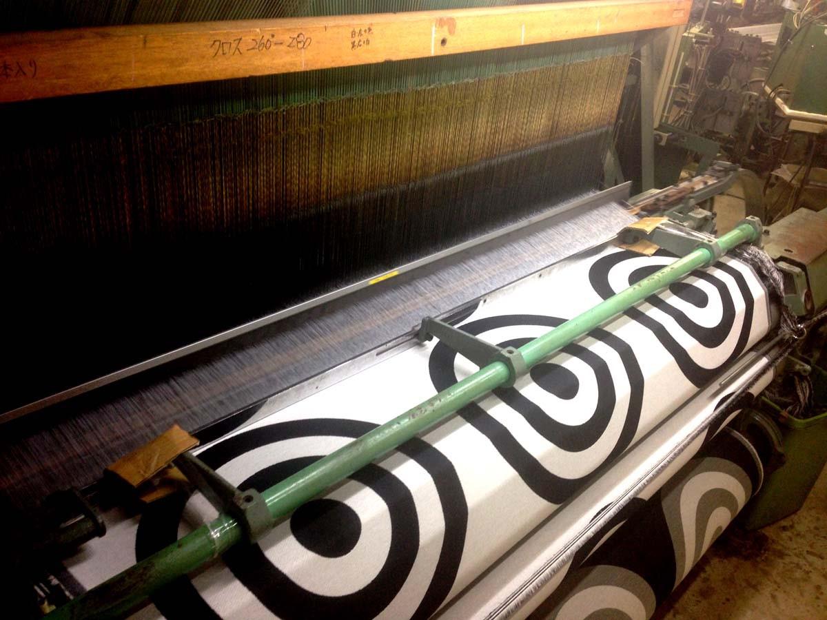 オリジナル織物 3釜