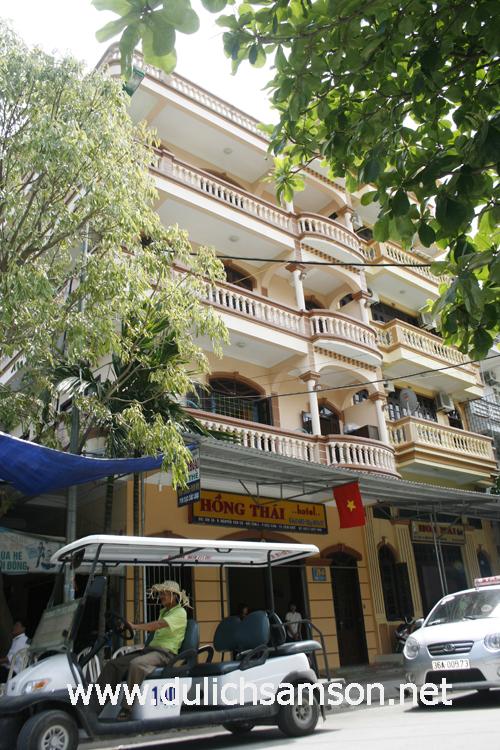 Khách sạn Hồng Thái Sầm Sơn Thanh Hoá
