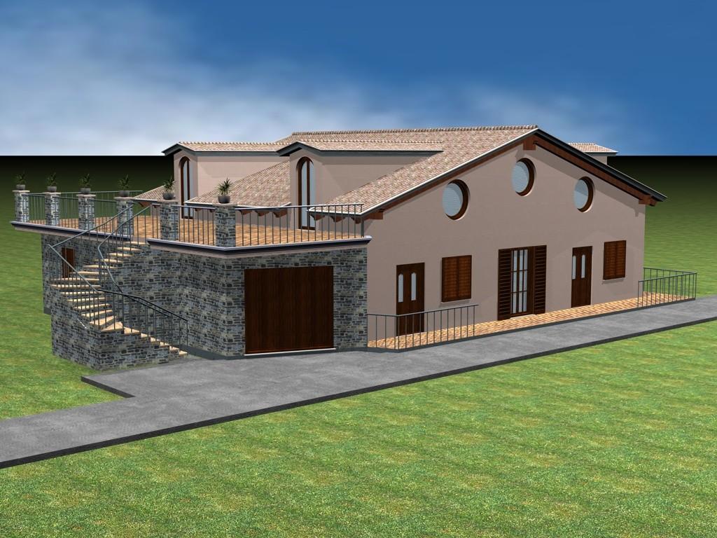 Lavori di ristrutturazione edilizia di una villetta per civile abitazione