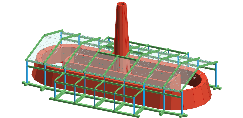 Progettazione strutturale in c.a. e capriate in legno-acciaio