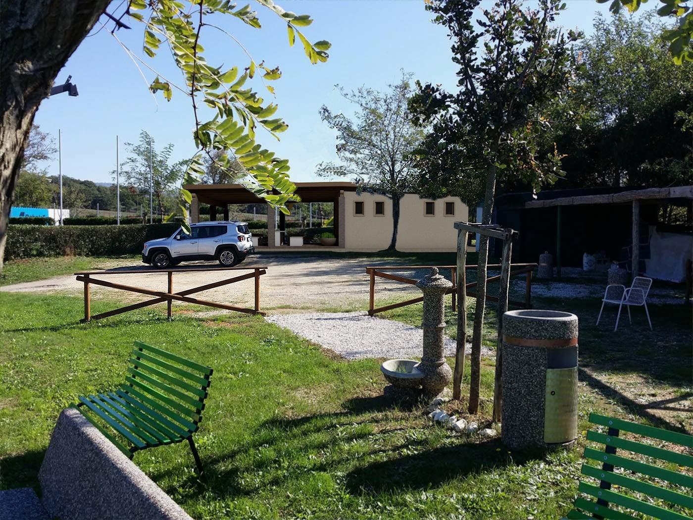 Lavori di riqualificazione ed adeguamento igienico tecnico-funzionale della struttura turistica sportiva in località Trentova