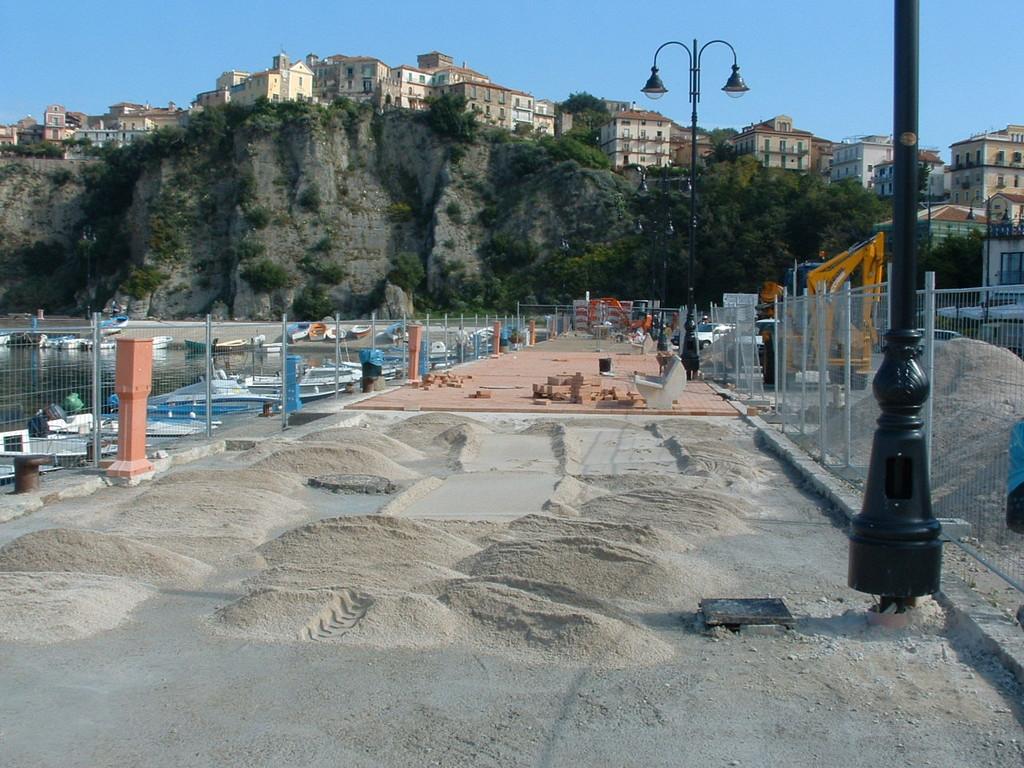 Adeguamento infrastrutturale ed attrezzaggio del porto peschereccio di Agropoli (in corso)