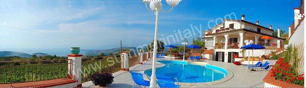 Agropoli: Ammodernamento di una casa vacanze  con  piscina (dopo)