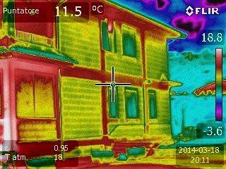 Tessitura muratura esterna e dispersione di calore - ponti termici