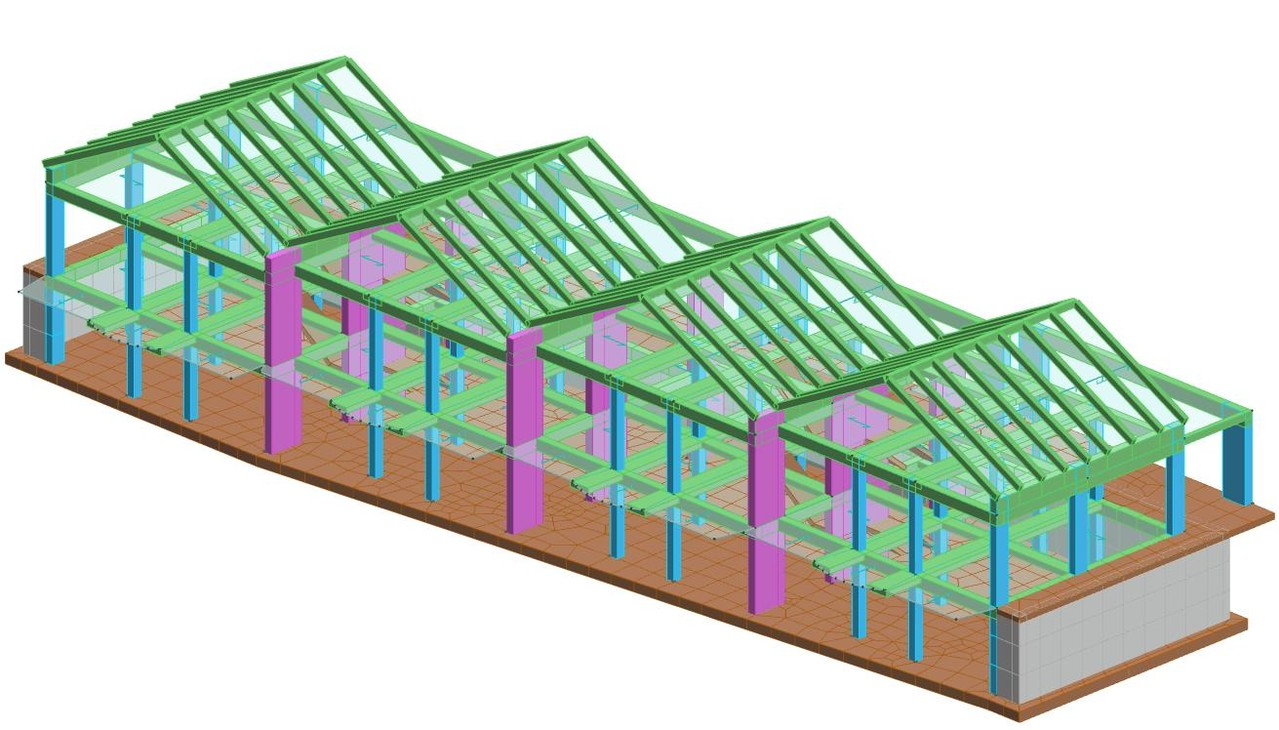 Progettazione strutturale di villette a schiera