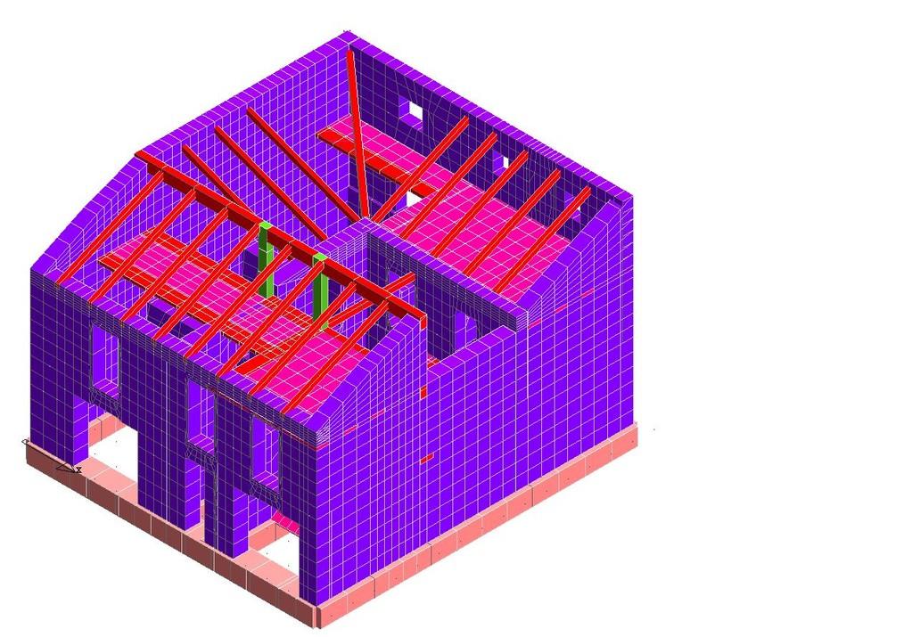 Calcolo e Verifica Sismica di una struttura in muratura