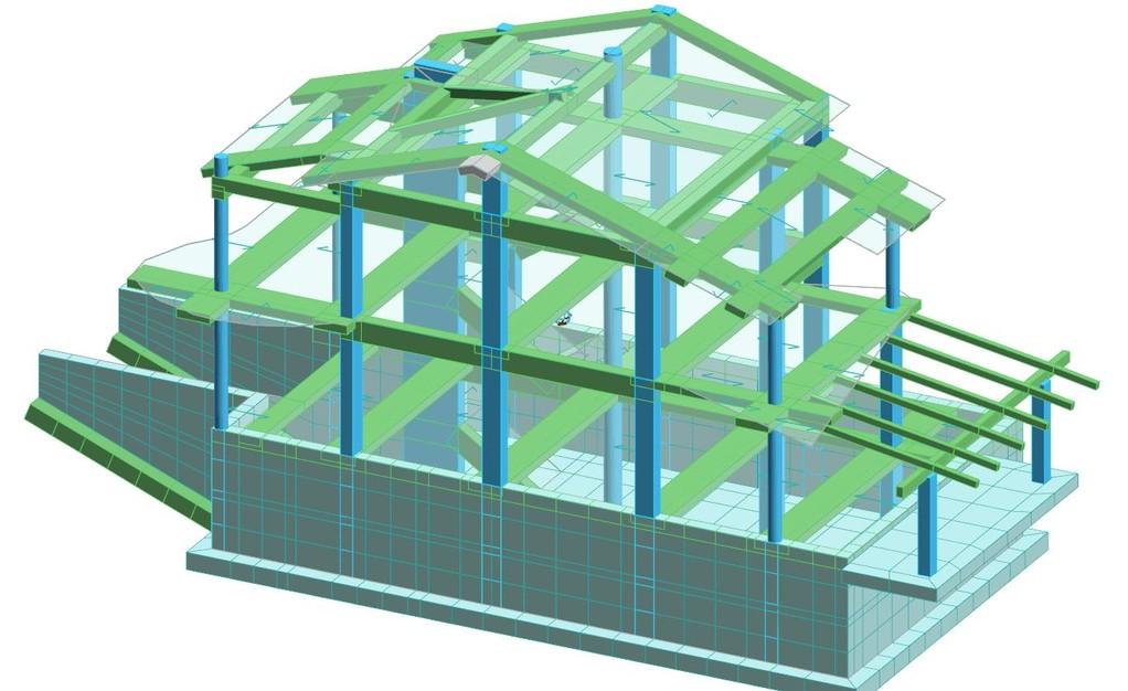 Progettazione strutturale fabbricato residenziale
