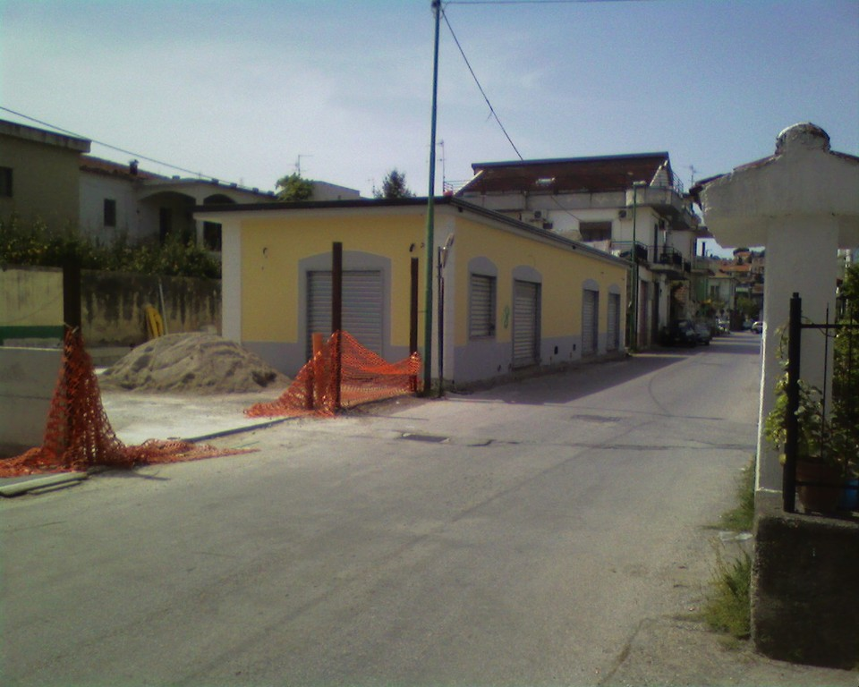 Agropoli: Ristrutturazione edilizia di un immobile adibito a locali commerciali e box auto (dopo)