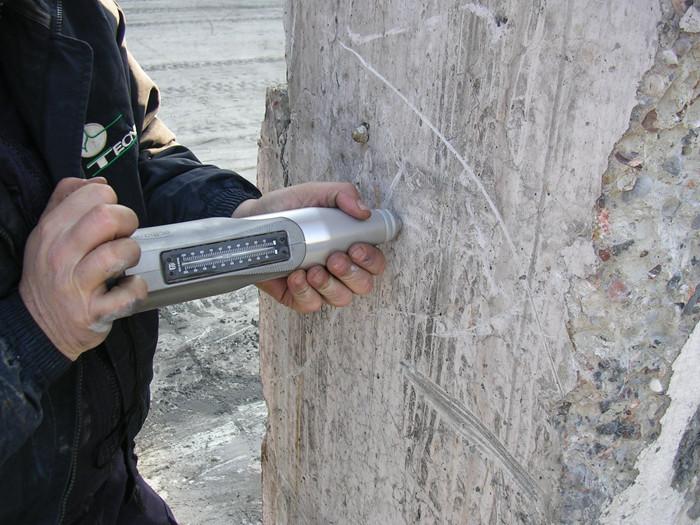 SCLEROMETRO ECTHA 1000 – Misuratore di resistenza calcestruzzo