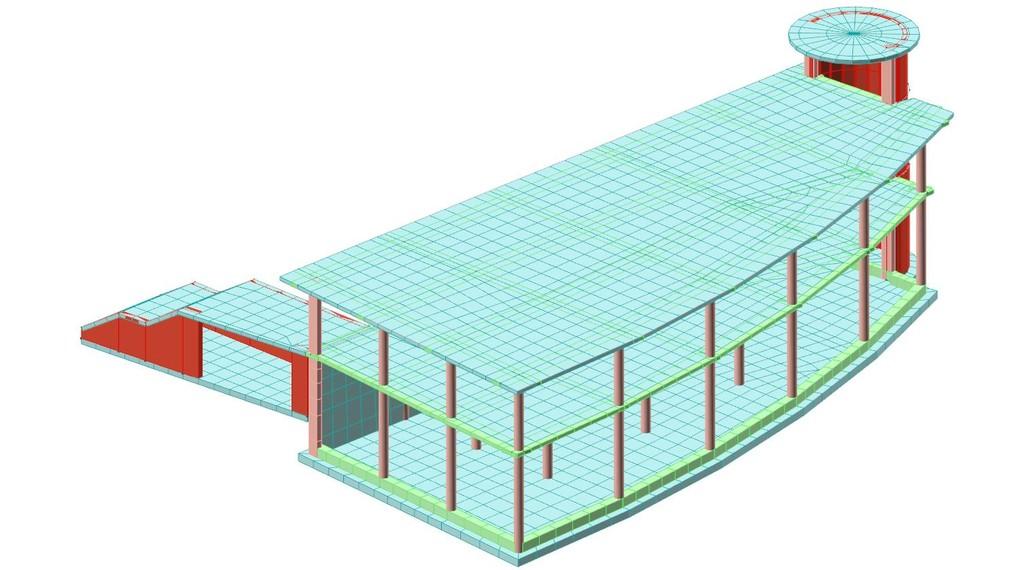 Progettazione strutturale in c.a. di un edificio pubblico - Uffici Giudice di Pace in Agropoli