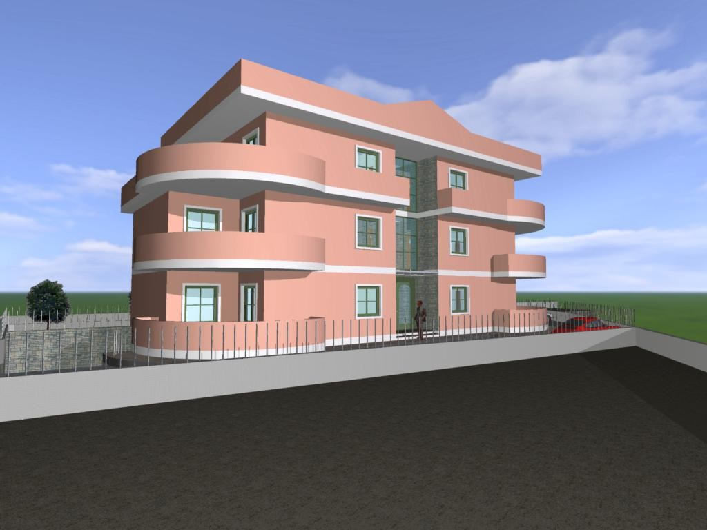 Lavori di costruzione di una palazzina per civile abitazione