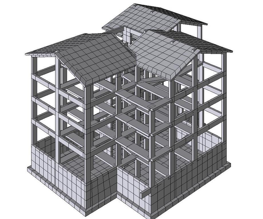 Fabbricato residenziale/commerciale - Struttura in c.a.