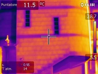 Tessitura muratura esterna - ponti termici