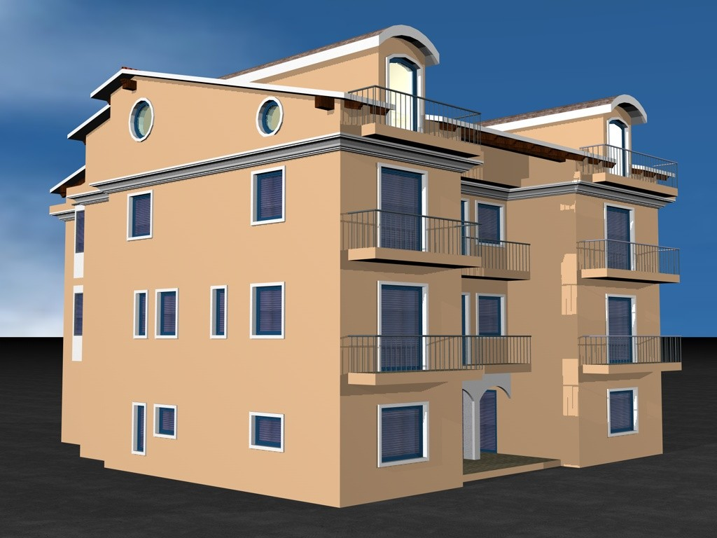 Lavori di ristrutturazione edilizia di un immobile per civile abitazione