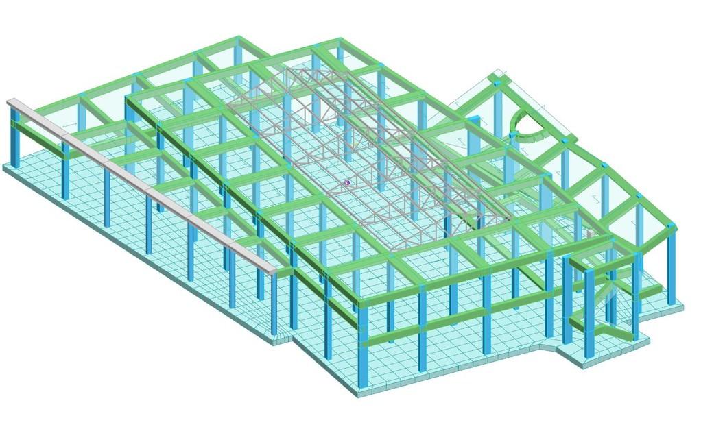 Progettazione strutturale in c.a. ed acciaio di un deposito artigianale
