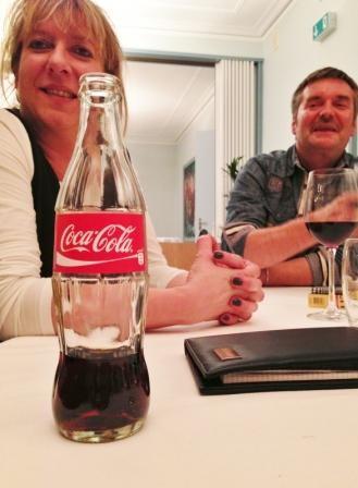 Hier wurde nur Cola getrunken Karin & Richi