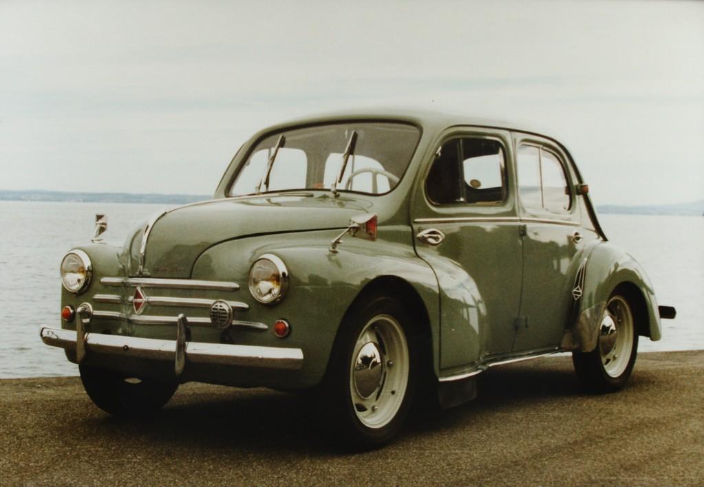 Renault 4CV Basis für die erste Alpine