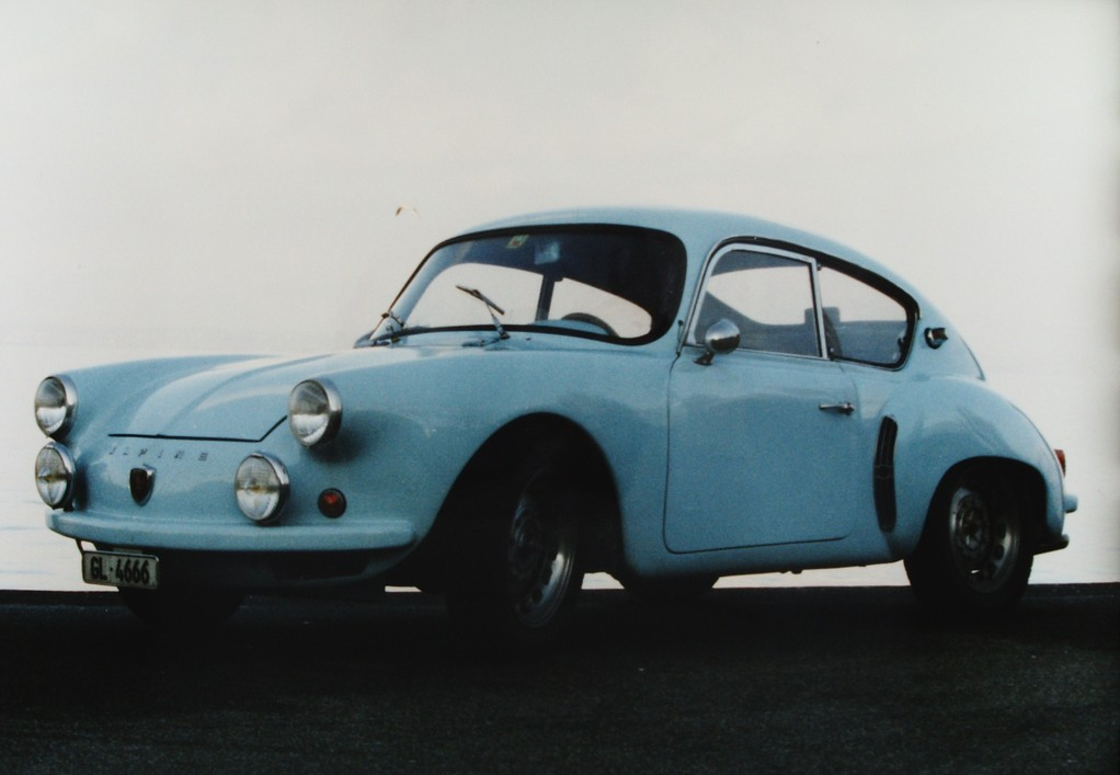 Alpine A 108 Original Werkswagen 1957 (Basis A 106)