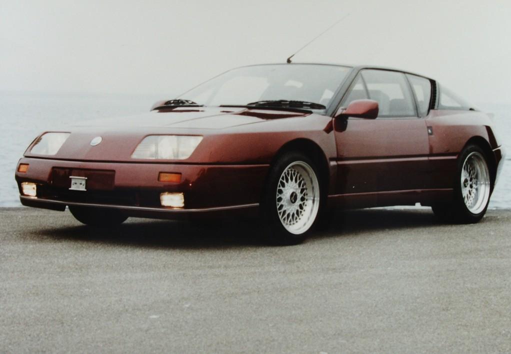 Renault Alpine V6 GT turbo Le Mans