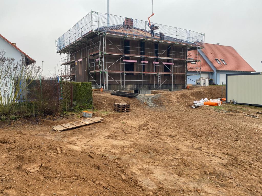 Doppelhaus im Raum Würzburg