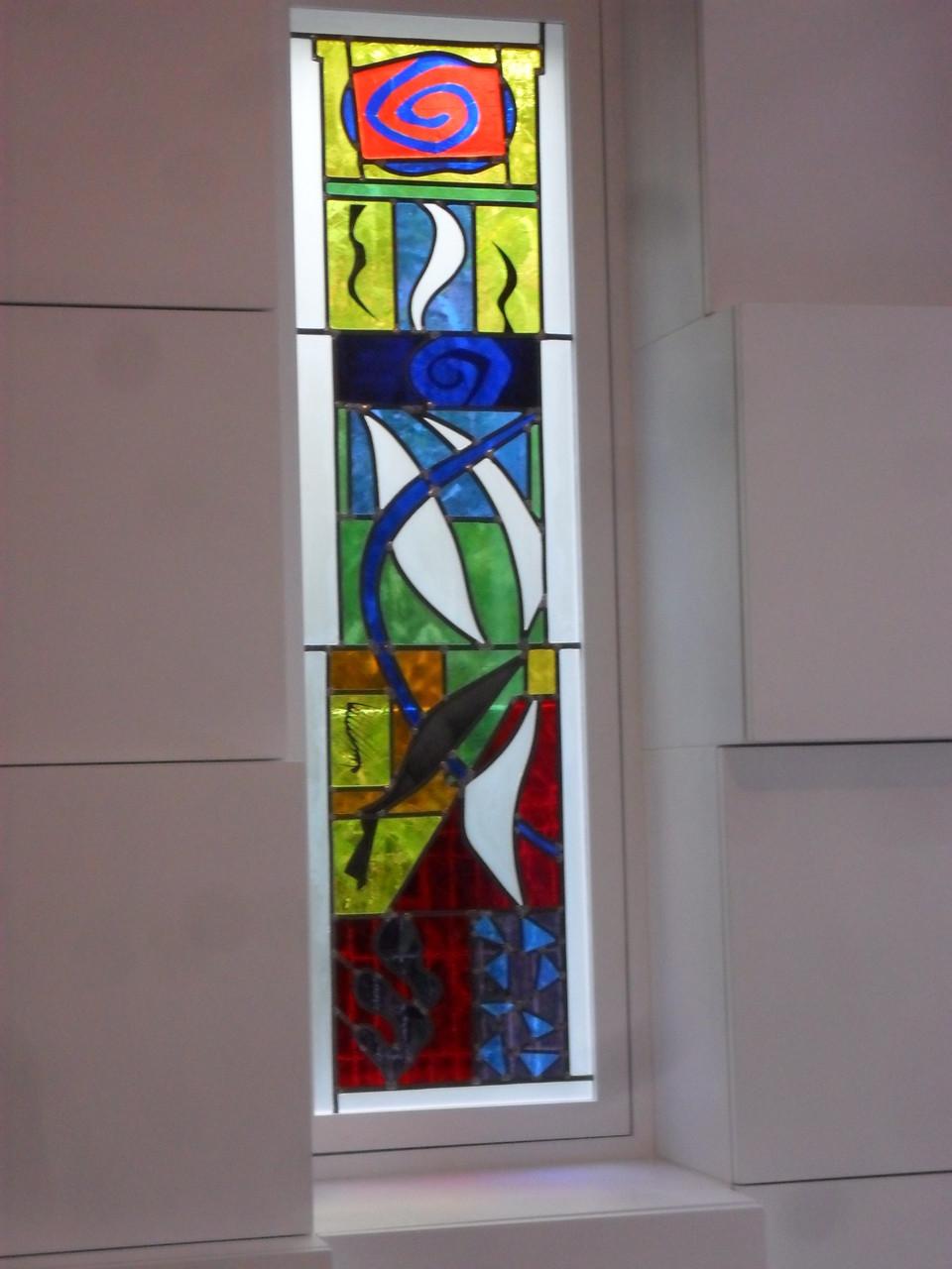 Vitrail Matisse - Montpellier- Art du Vitrail