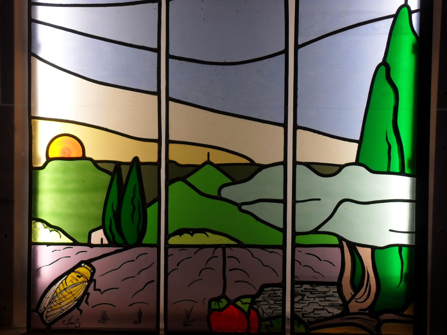 """Triptyque """"paysage provençal"""" - Lodève 34"""