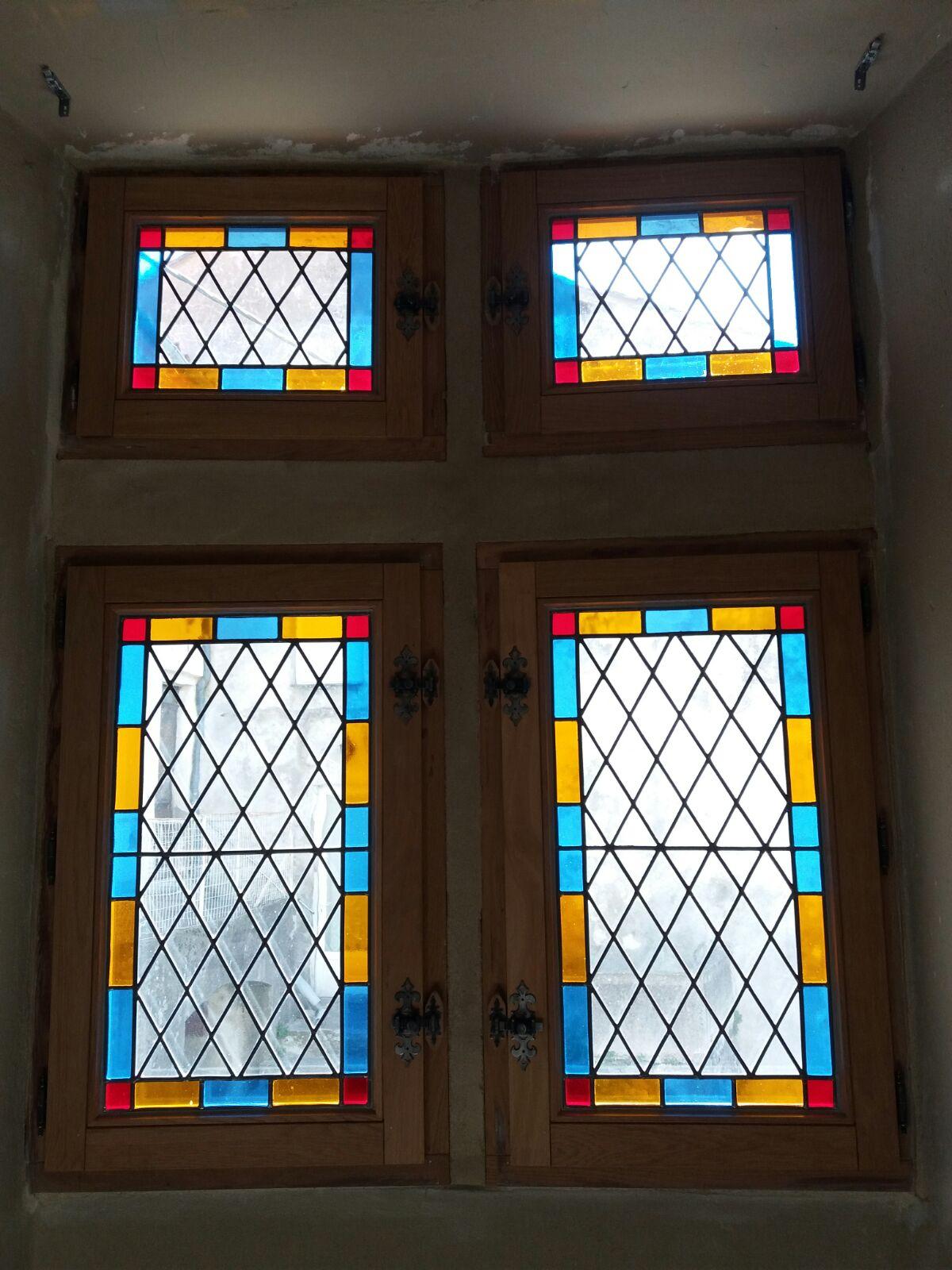 Fenêtre à meneaux Château d'Arrigas