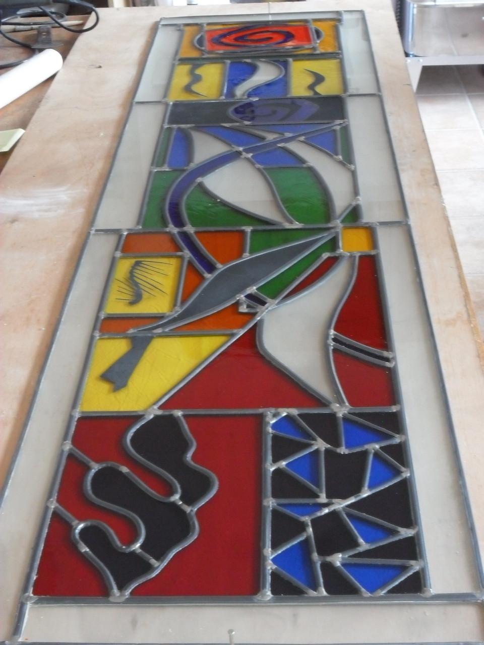 Vitrail Matisse - Montpellier -Art du Vitrail