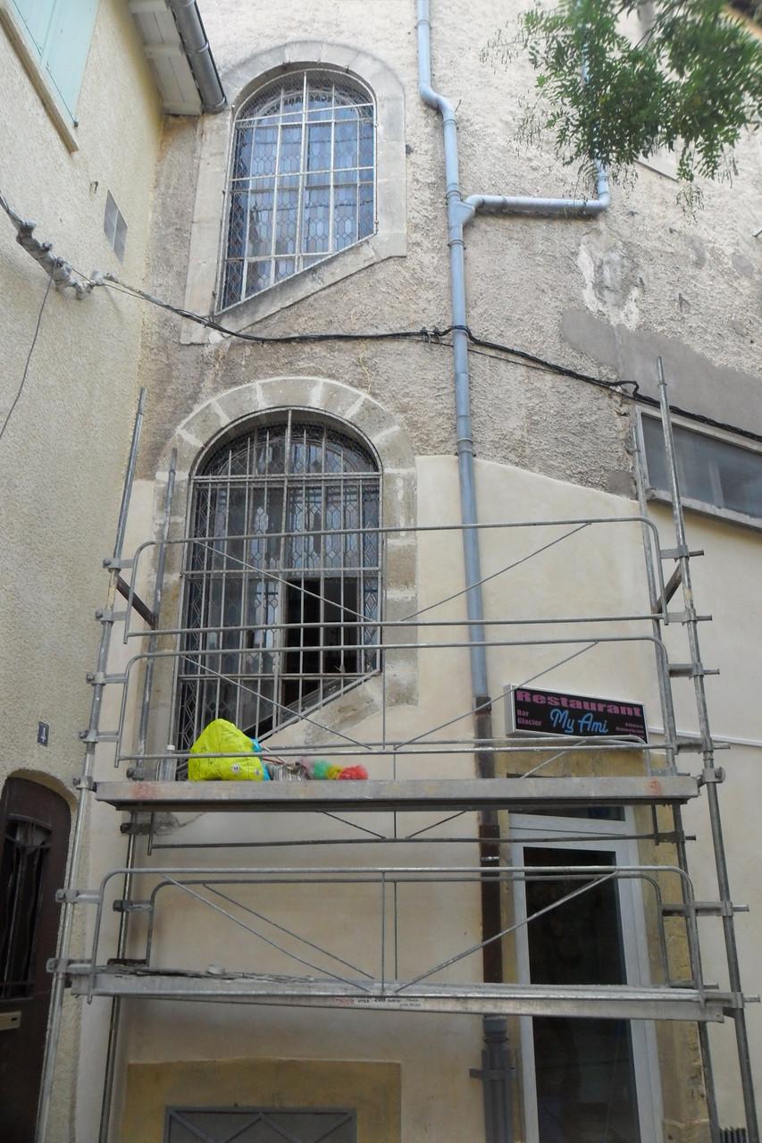 Restauration verrière Clermont-l'hérault -vitrail languedoc