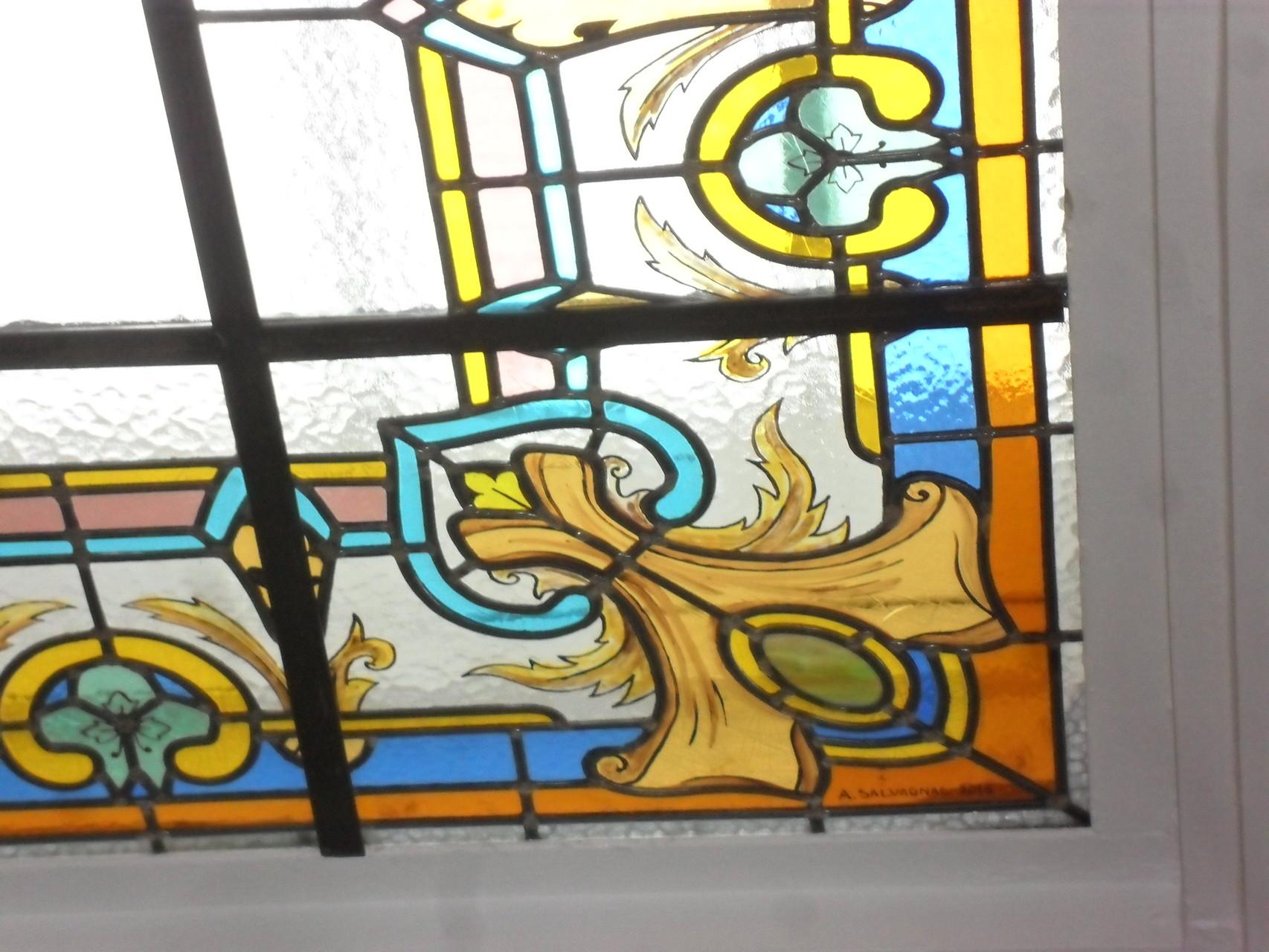Détail verrière de plafond- Hotel particulier-Montpellier