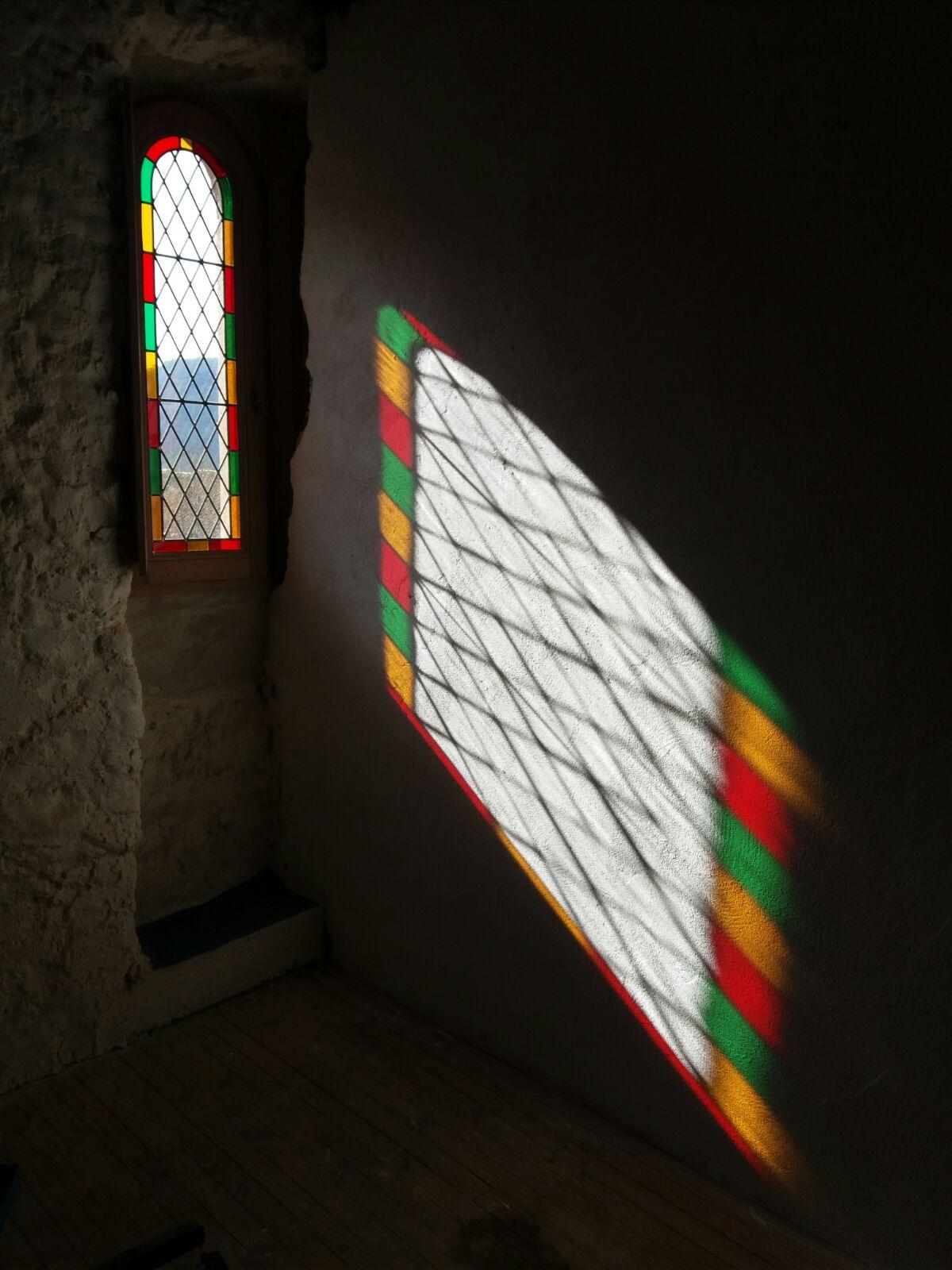 Fenêtre plein cintre Chateau