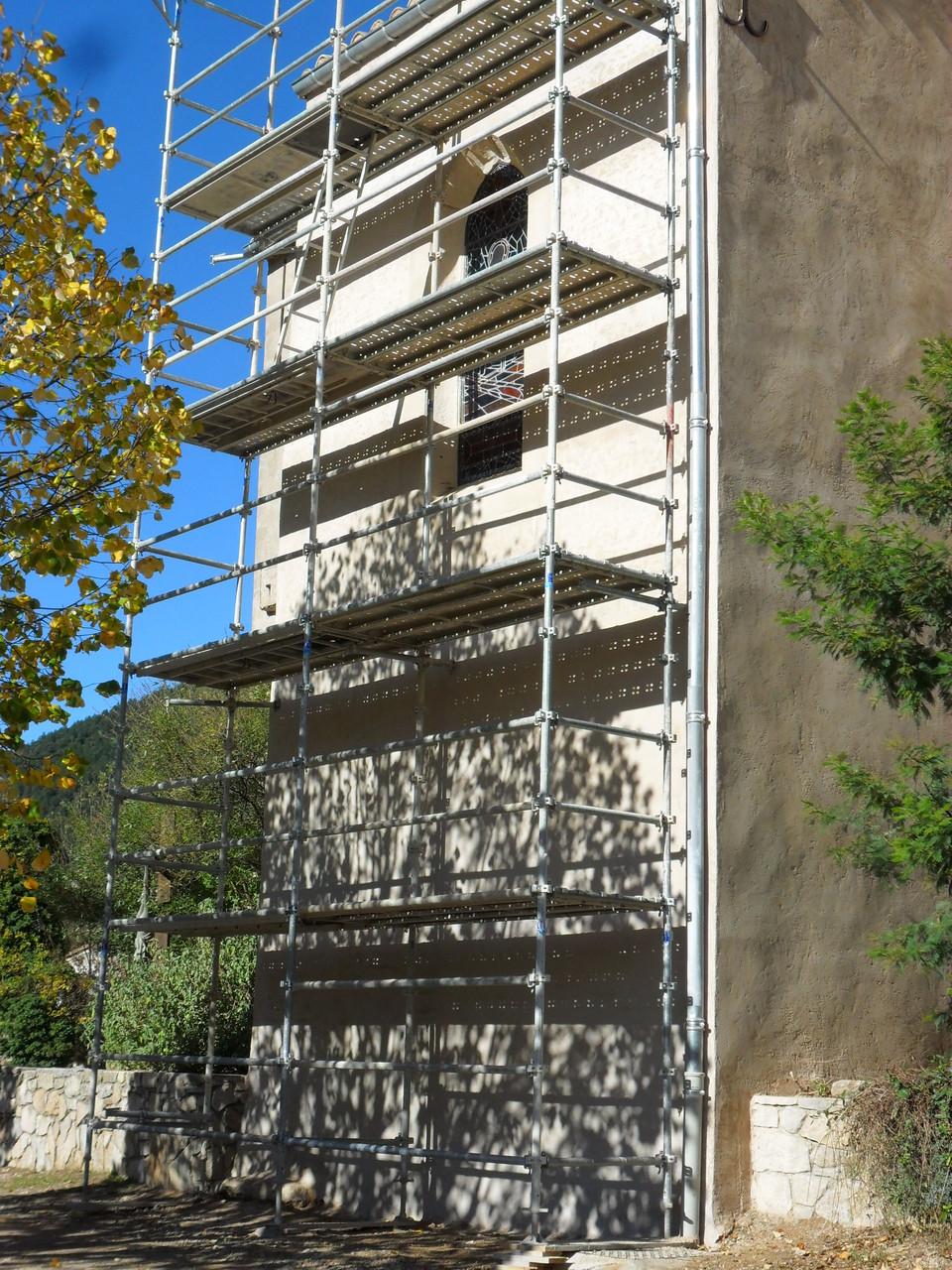 Restauration Eglise de St Etienne de Gourgas 34