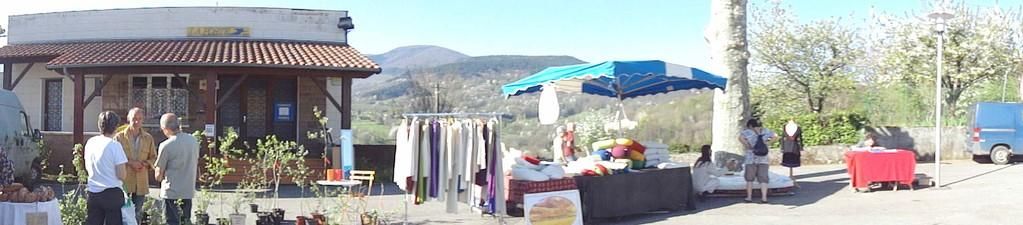 Le marché de Serres                                                                           Fanny