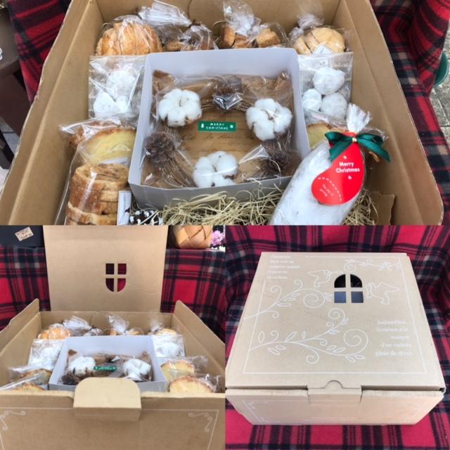 パン屋のアーブルさんとクリスマスコラボ♪