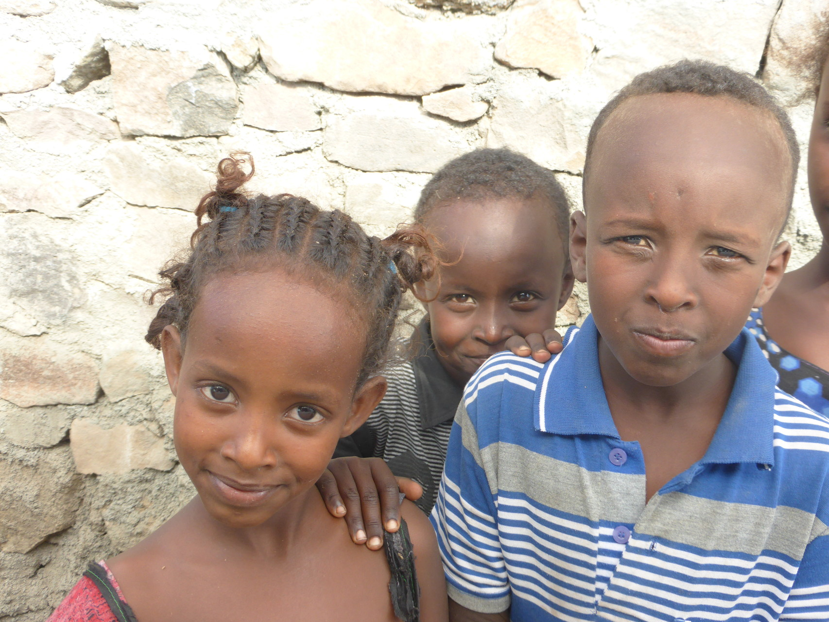 Enfants du village de Guirrori