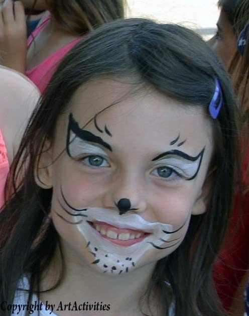 Kinderschminken/Facepainting Katze