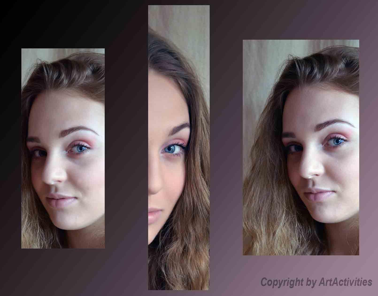 Visagistik, Tages Make Up, Model Lara Koinig