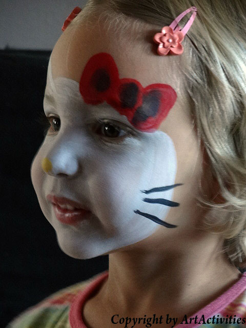 Kinderschminken/Facepainting Hello Kitty